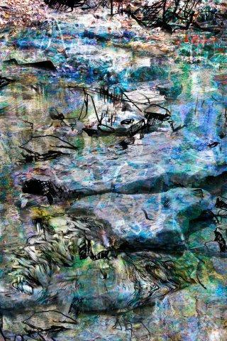 Stepping Stones by Cynthia Beth Rubin