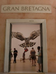 Jeremy Deller, entrance to the British Pavilion