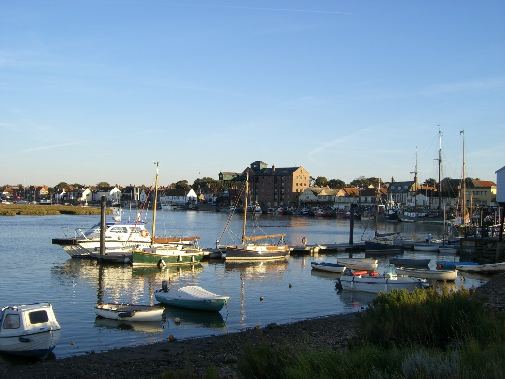 The town of Wells-next-the-Sea