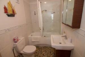 bathroom on entry level