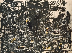 Jackson Pollock, Yellow Islands 1952, collection of Tate